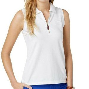 Tommy Hilfiger 2X White Polo Top NWT AK78